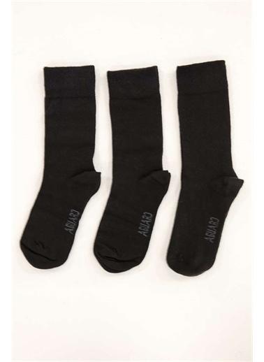 IGS Igs 2824140318 Standart Beden 3'Lü Erkek Çorap Siyah